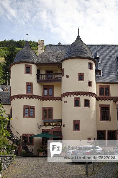 Hotel Schloss Zell  Zell  Rheinland-Pfalz  Deutschland  Europa  ÖffentlicherGrund