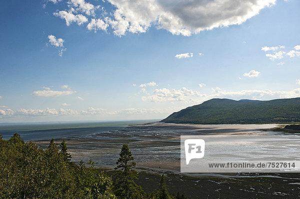 Baie-Saint-Paul  St.-Lorenz-Strom  Provinz QuÈbec  Kanada  Nordamerika