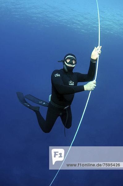 Freediver  Mediterranean Sea  Kash  Turkey
