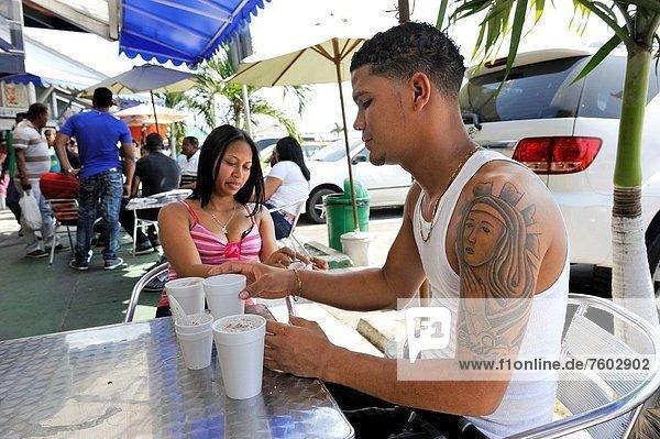 Panama City  Hauptstadt  Fisch  Pisces  Essgeschirr  Frische  geben  Produktion  Eis  Speisefisch und Meeresfrucht  Mittelamerika  Zimmer  marinieren  Markt  roh