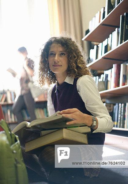 Studentisches Lesebuch in der Bibliothek