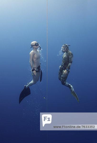 Freedivers  Mediterranean Sea  Ka?  Kas  Turkey