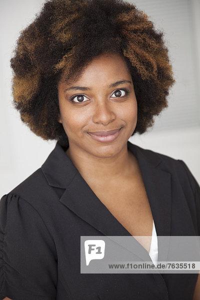 Geschäftsfrau  lächeln  amerikanisch
