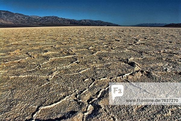Vereinigte Staaten von Amerika  USA  Amerika  Landschaft  Kalifornien  Speisesalz  Salz  Salztonebene