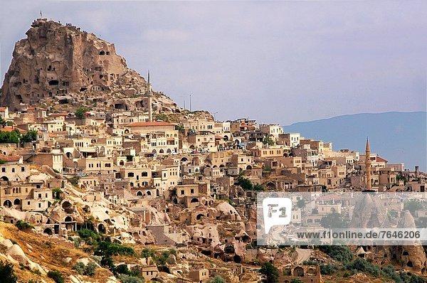 Turkey-Cappadocia- Üçhisar.