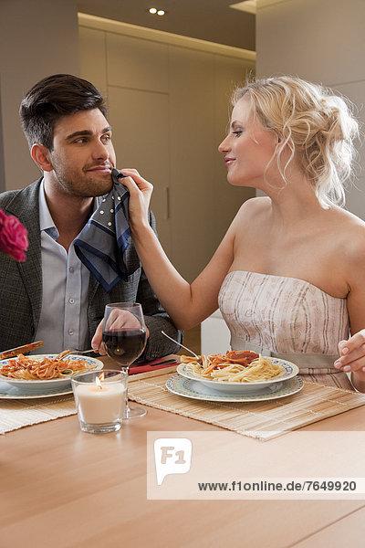 Interior  zu Hause  Abendessen  Romantik