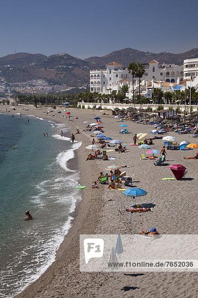 Europa  Andalusien  Nerja  Spanien