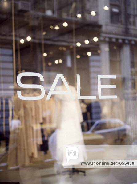 Boutique - Ausverkauf - New York City - New York - USA