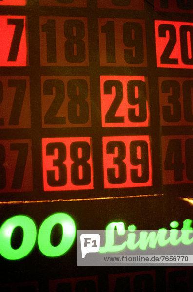 Glücksspiel - Las Vegas - Nevada - USA