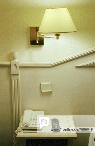 Hotelzimmer (Detail) - Paris - Frankreich