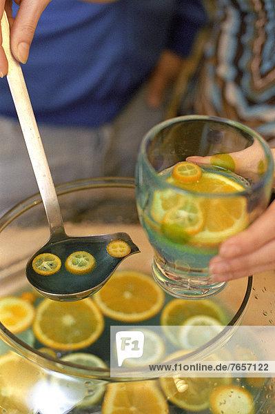 Fruchtbowle - Alkoholische Getränke