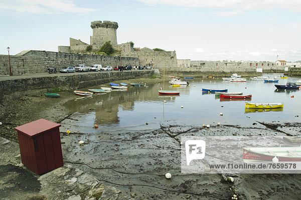 Die Festung von Socoa Ciboure  Frankreich