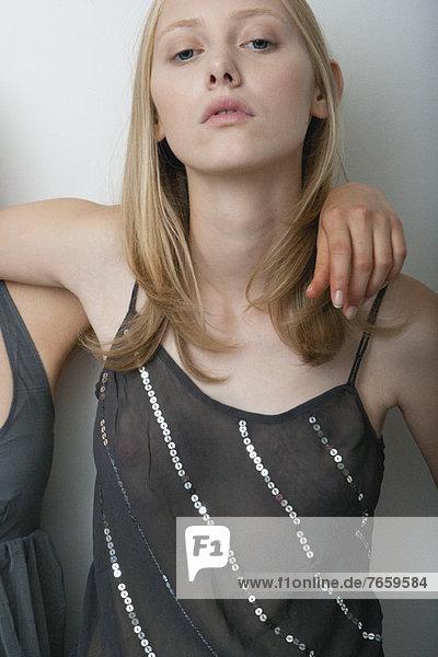 Junge Frau  Portrait