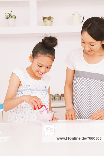 Rasur Produktion Eis Tochter Mutter - Mensch