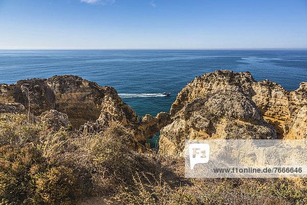 Felsenbogen  Küstenlandschaft  Felsküste