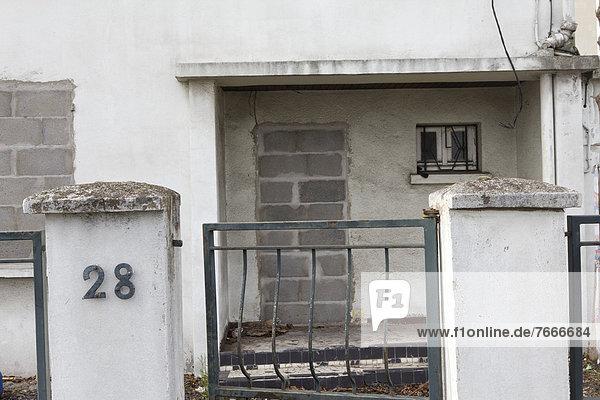 Frankreich Europa Fenster Tür Sperre Auvergne