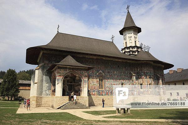 Manastirea Sucevita  Kloster Sucevita  Moldauklöster  Unesco-Weltkulturerbe  Rumänien  Europa