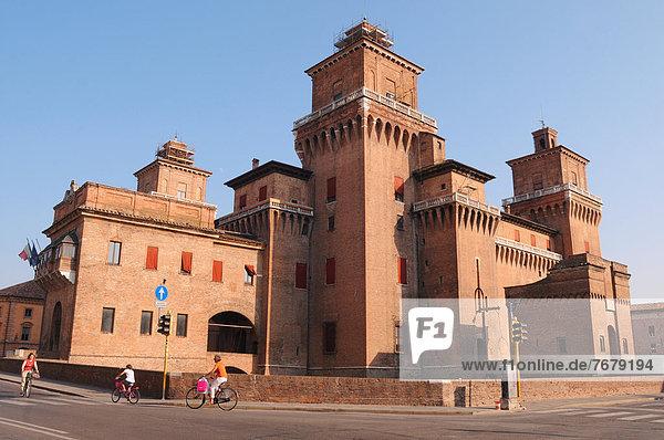 Emilia-Romangna, Ferrara, Italien
