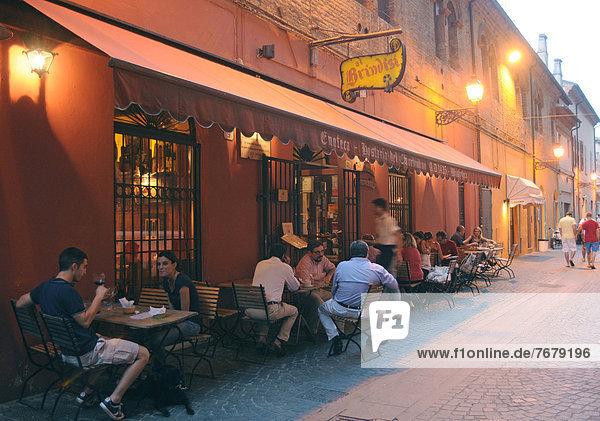 Europa Emilia-Romangna Ferrara Italien
