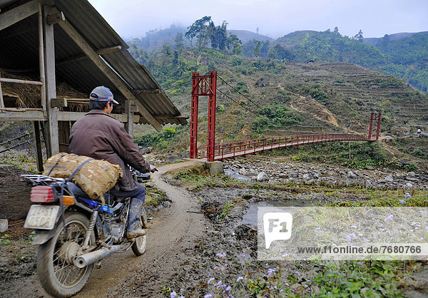 Brücke  Hoi An  Vietnam