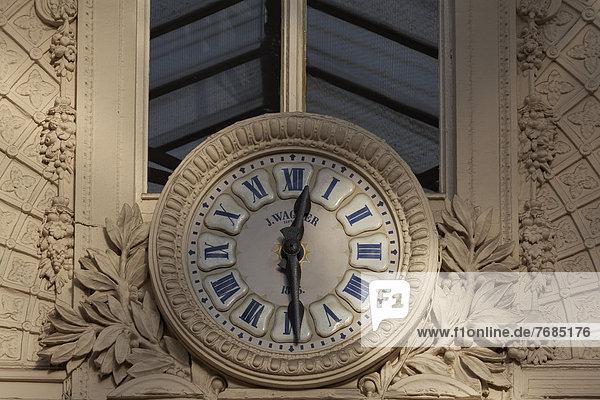 Historische Uhr von 1846  Passage Jouffroy  Grands Boulevards