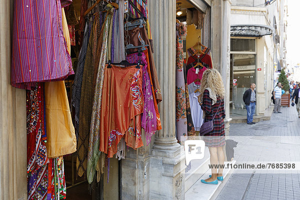 Boutique  Istiklal Street or ?stiklal Caddesi