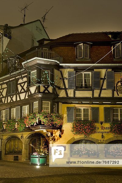 France  Alsace  Colmar  old town