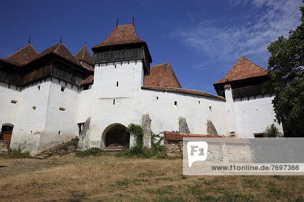 Kirchenburg von Viscri  Deutsch-Weißkirch  Unesco Weltkulturerbe