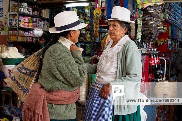 Cuenca  Hauptmarkt  Ecuador