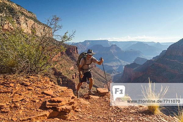 Männerwanderweg im Grand Canyon