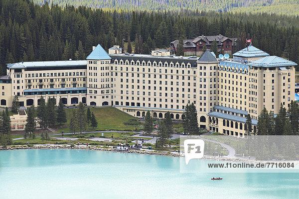 Nationalpark  Hotel  See  Urlaub  Palast  Schloß  Schlösser  Banff