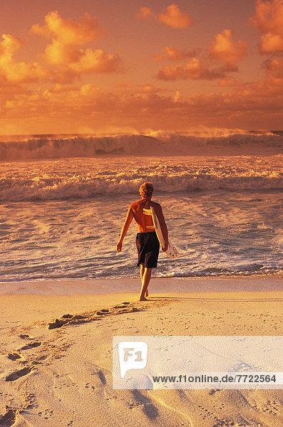 Wasser  gehen  Strand