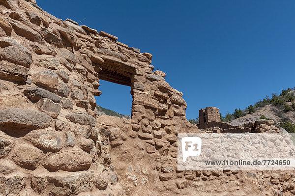 San Jose De Los Jemez Franciscan Mission And The Jemez State Monument At Sandoval County  New Mexico Near Jemez Springs