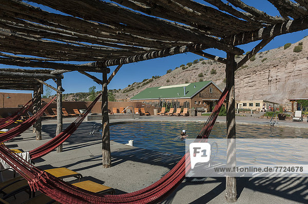 Ojo Caliente Mineral Springs In Northern New Mexico Resort And Spa Near Santa Fe  New Mexico  Usa
