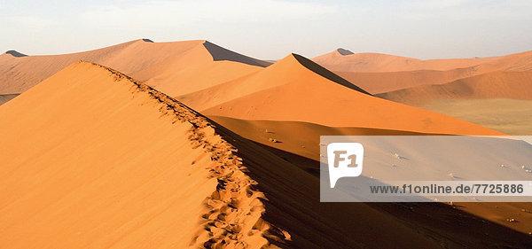 Sossusvei Desert Dunes Namib Desert. © Chris Caldicott / Axiom