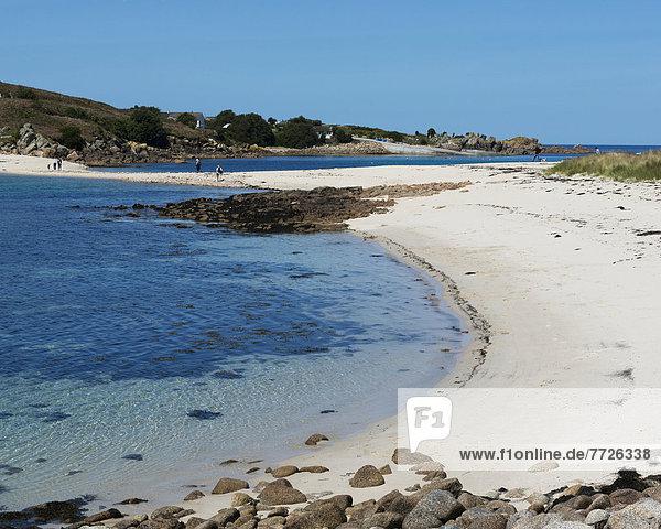 zeigen  Europa  sehen  Großbritannien  Sand  Insel  Cornwall