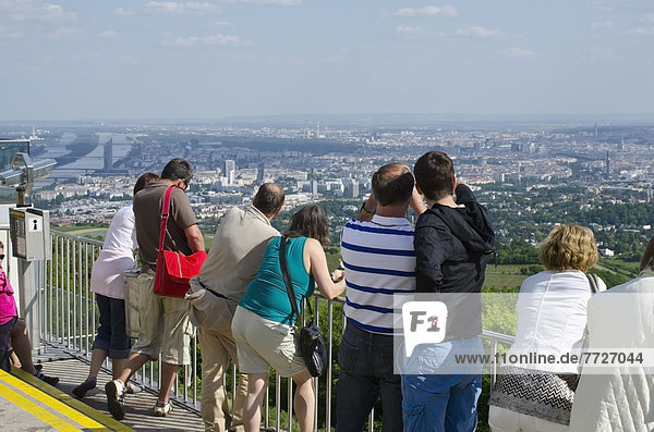 Wien  Hauptstadt  Fröhlichkeit  Mensch  Menschen  Ansicht  Österreich