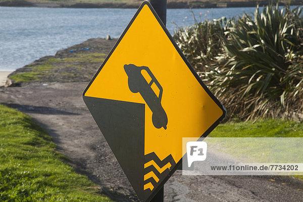 Hafen  Ecke  Ecken  Fernverkehrsstraße  Zeichen  Symbol  Kerry County  Irland  Signal