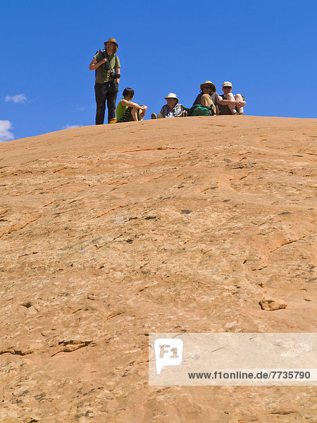 Amerika  Abenteuer  Forschung  Athlet  Schlucht  Verbindung  Loch  Utah