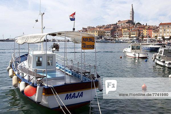 Frachtschiff  MSC Uruguay  beim Entladen im Seehafen von Koper  Slowenien  Europa