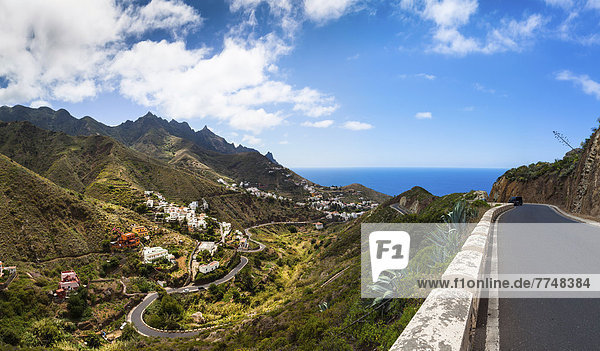 Berg Fernverkehrsstraße