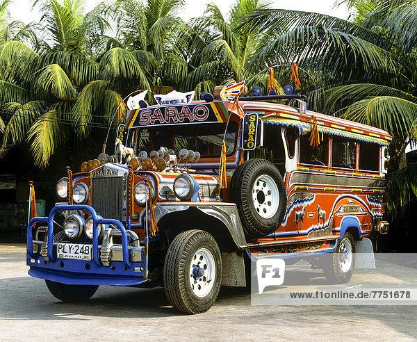 Jeepney Taxi  Sammeltaxi  Sarao
