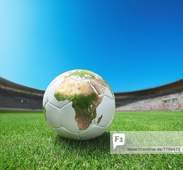 Landkarte  Karte  Gras  Football
