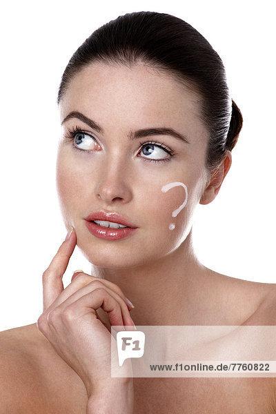 Frauenporträt  Make-up