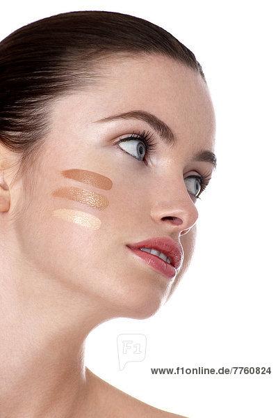 Woman portrait  make-up