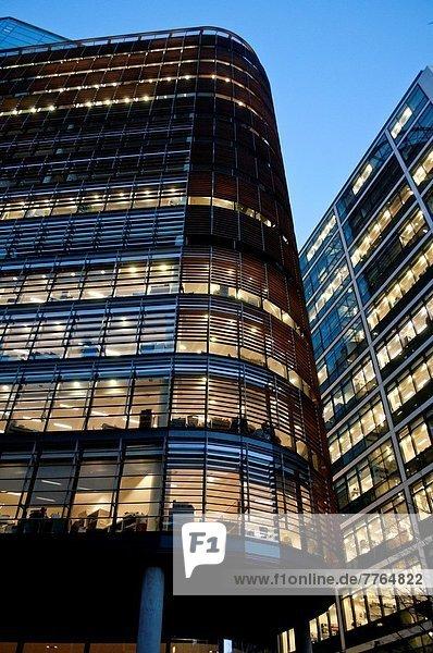 Großbritannien  London  Hauptstadt  Großstadt  Büro  Nachbarschaft