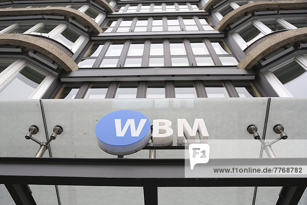 Headquarters of the housing association Berlin-Mitte or WBM  a municipal real estate company in Berlin