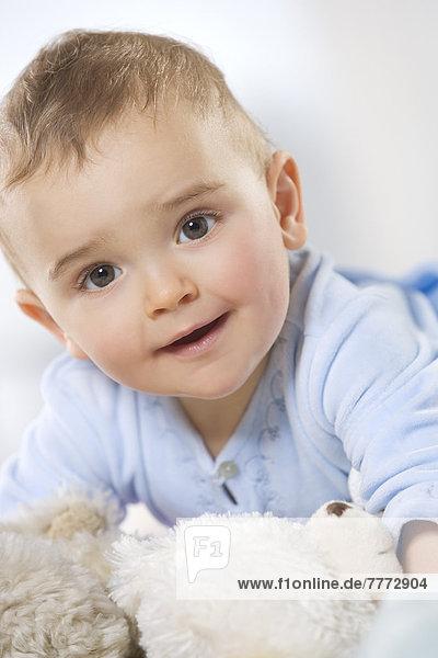 Porträt des kleinen Jungen