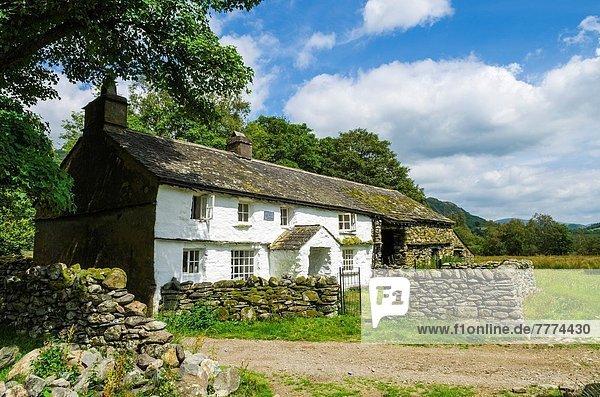 nahe  klein  See  Landhaus  Cumbria  Ortsteil  England