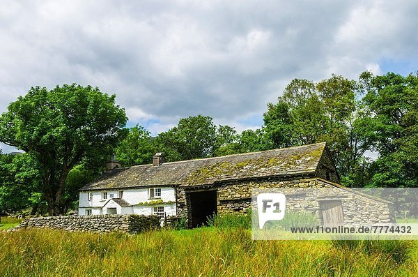 nahe Nationalpark klein See Cumbria Ortsteil England